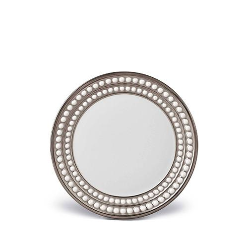 Perlee Platinum Bread & Butter Plate by L'Objet
