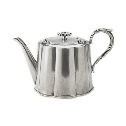 Britannia Teapot by Match Pewter