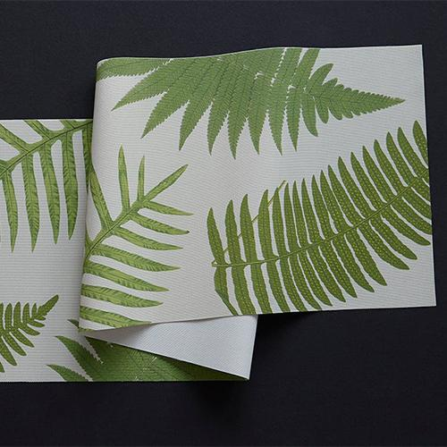 Chilewich: British Fern Woven Vinyl Table Runner