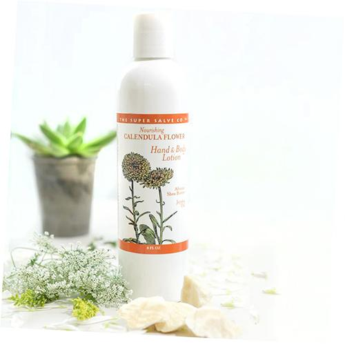 Calendula Flower Hand and Body Lotion by Super Salve Co.
