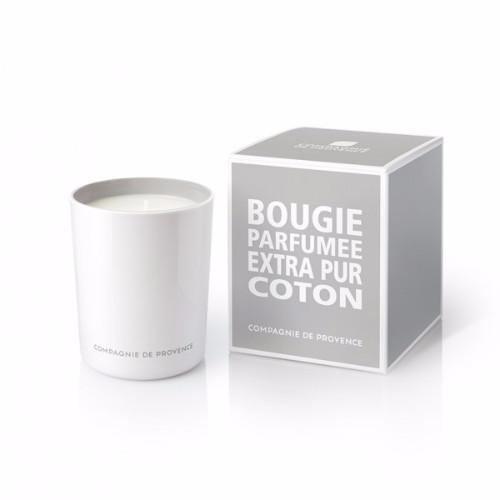 Cotton Flower Candle by Compagnie de Provence
