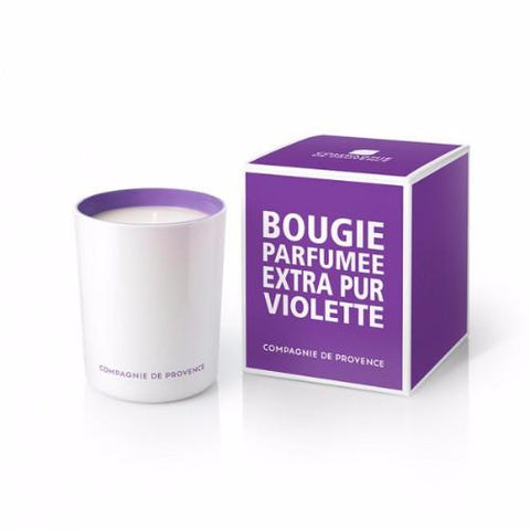 Sweet Violet Candle by Compagnie de Provence