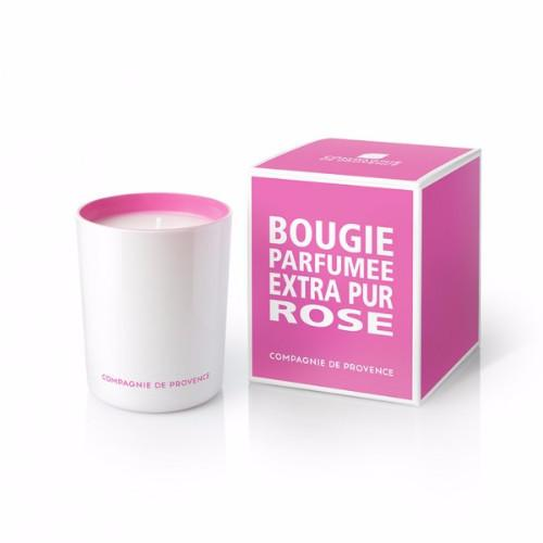 Wild Rose Candle by Compagnie de Provence