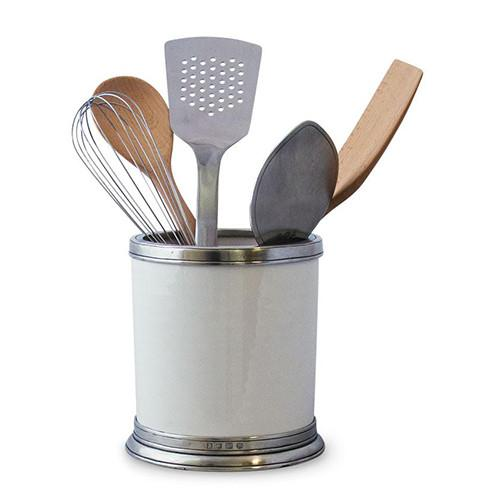 Convivio Kitchen Tool Holder by Match Pewter