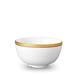 Soie Tressee Gold Cereal Bowl by L'Objet