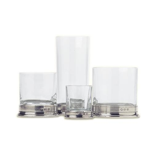 Classic Double Old-Fashioned Glass by Match Pewter