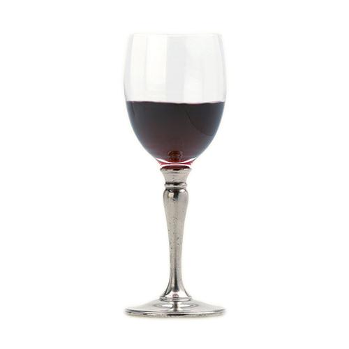 Classic Red Wine Glass by Match Pewter