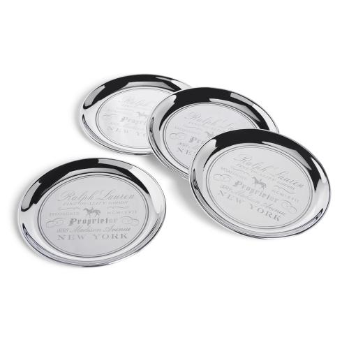 Cantwell Coasters, Set of 4 by Ralph Lauren
