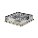 Cocktail Napkin Box by Match Pewter