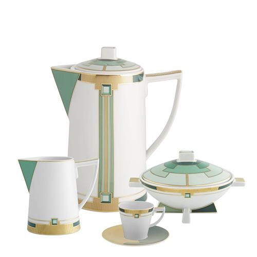 Emerald Coffee Pot by Vista Alegre