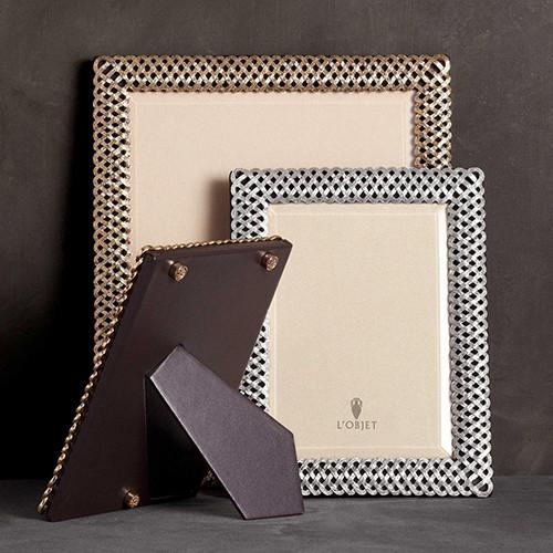 Braid Photo Frame by L'Objet