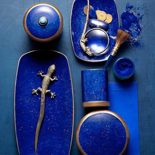 Lapis Small Dish by L'Objet