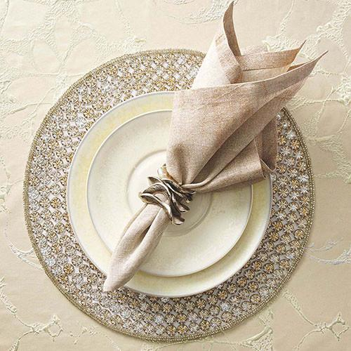 Glimmer Placemat, set of 4 by Kim Seybert