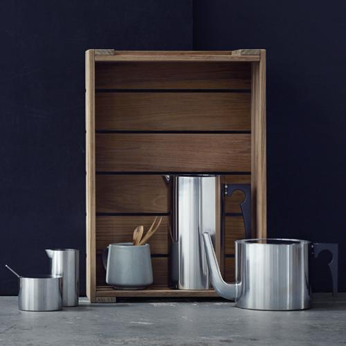 Cylinda-Line Pitcher with Icelip by Arne Jacobsen for Stelton