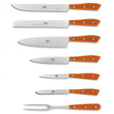 Compendio Knives w/Grey Blades, Set of 7 by Berti
