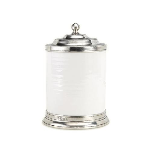 Convivio Canister by Match Pewter at Amusespot.com