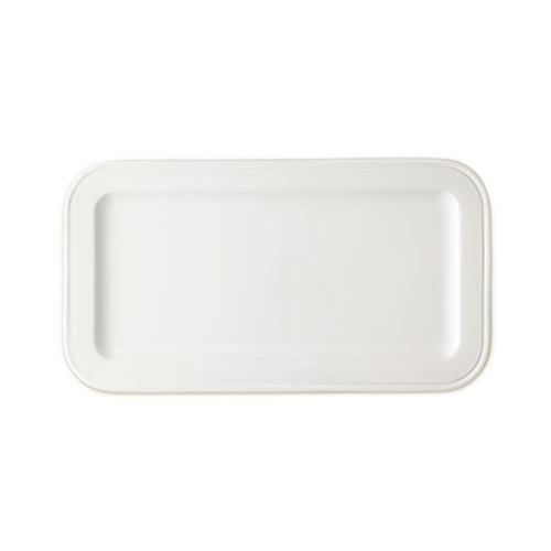 Convivio Ceramic Rectangular Tray by Match Pewter
