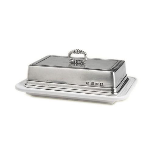 Convivio Double Butter Dish with Cover by Match