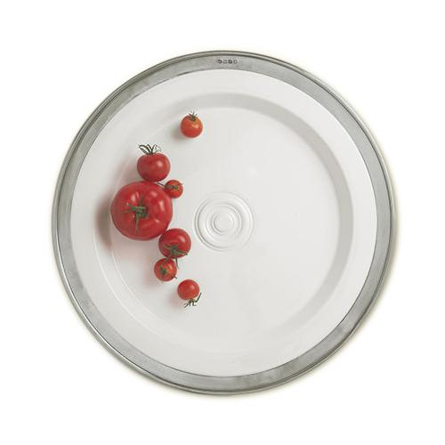 Convivio Round Platter, Large by Match Pewter