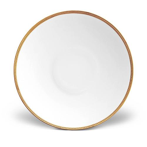Soie Tressee Gold Coupe Bowl, Large by L'Objet