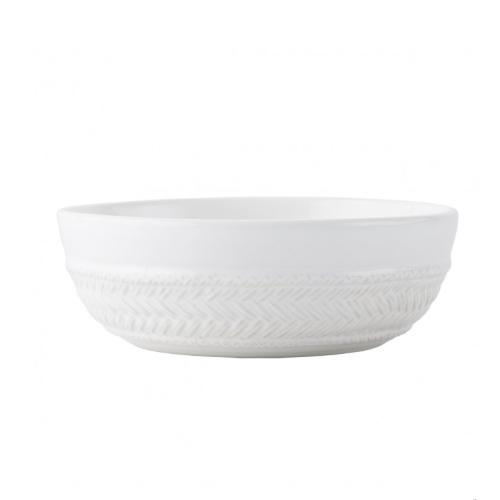 Le Panier Whitewash Coupe Pasta/Soup Bowl by Juliska