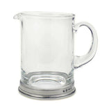 "Classic Branch Bar Pitcher by Match Pewter.  4.8"" x 6.3""; 36 oz."