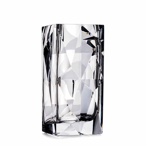 "Crystallization 10"" Vase by Rogaska 1665"