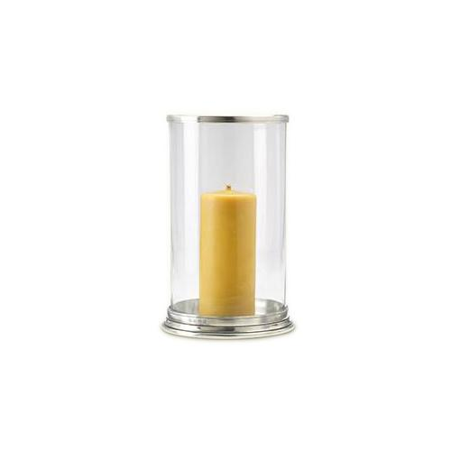 Cylinder Hurricane Candle Lamp by Match Pewter