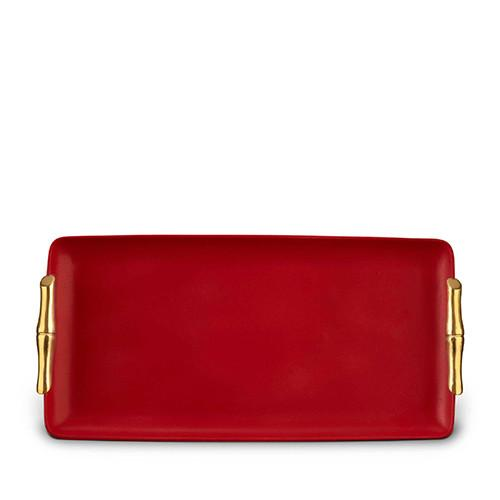 Bambou Rectangular Tray, Medium by L'Objet
