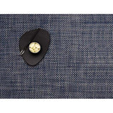 Chilewich: Basketweave Woven Vinyl Placemats Sets of 4 Blue