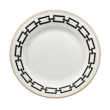 Catene Dessert Plate, Black by Gio Ponti for Richard Ginori