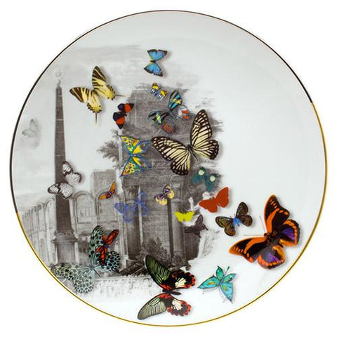 Forum Tower Dessert Plate by Christian Lacroix for Vista Alegre
