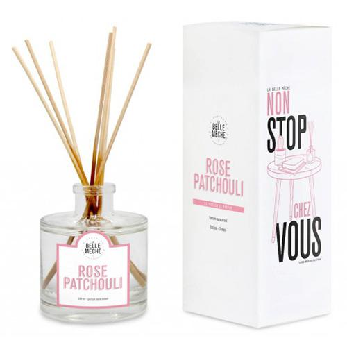 Rose Patchouli Reed Diffuser by La Belle Meche