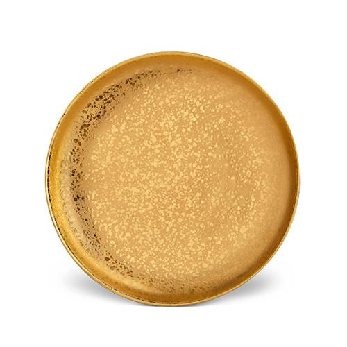 Alchimie Gold Dinner Plate by L'Objet