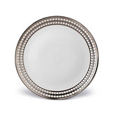 Perlee Platinum Dinner Plate by L'Objet