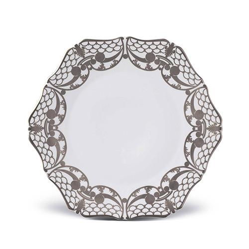 Alencon Platinum Dinner Plate by L'Objet