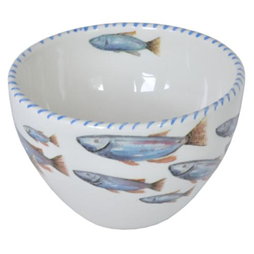 Lake Fish Soup/Dessert Bowl Set of 6 by Abbiamo Tutto