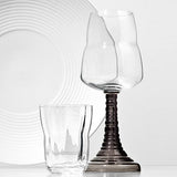 Domain Optic Flow Red Wine Glass by Hering Berlin