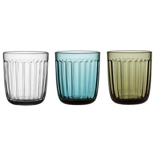 Raami Tumbler, 8.75 oz., set of 2 by Jasper Morrison for Iittala