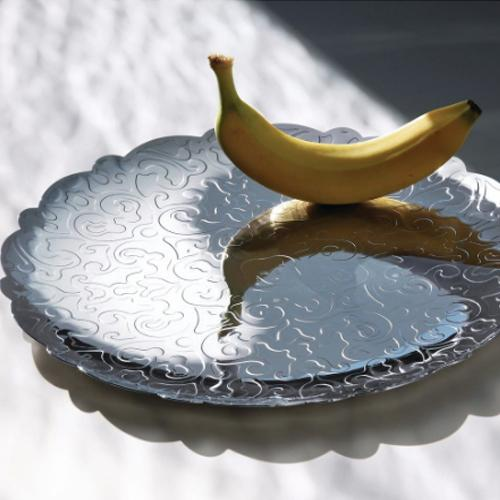 Dressed Long Tray by Marcel Wanders for Alessi