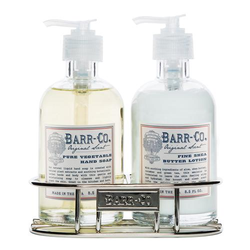 Barr-Co. Original Scent Hand & Body Caddy Set