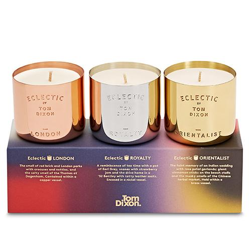 Eclectic Candle Gift Set by Tom Dixon