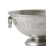Engraved Deep Footed Bowl by Match Pewter