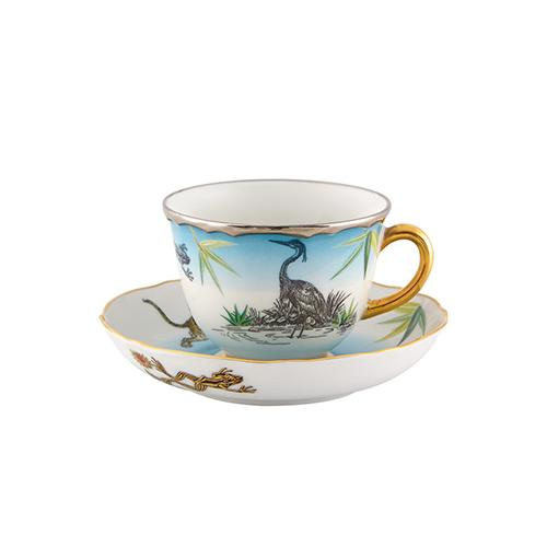 Reveries Espresso Coffee Cup & Saucer by Christian Lacroix for Vista Alegre