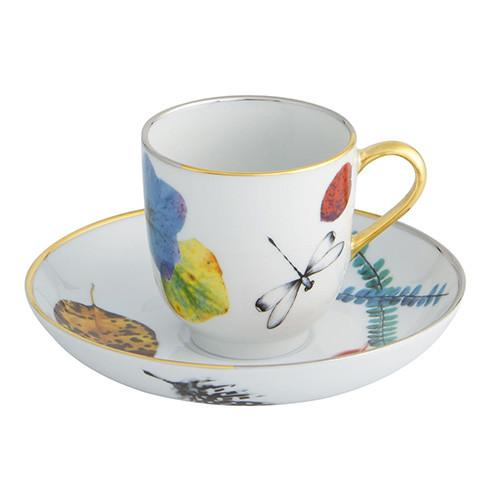Caribe Espresso Cup and Saucer by Christian Lacroix for Vista Alegre