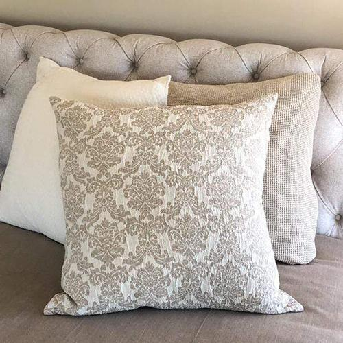 "Jacquard 26"" x 26"" Euro Pillow Sham by Crown Linen Designs"