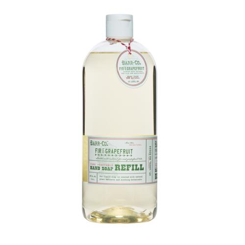 Barr-Co. Fir & Grapefruit Natural Vegetable Hand Soap Refill