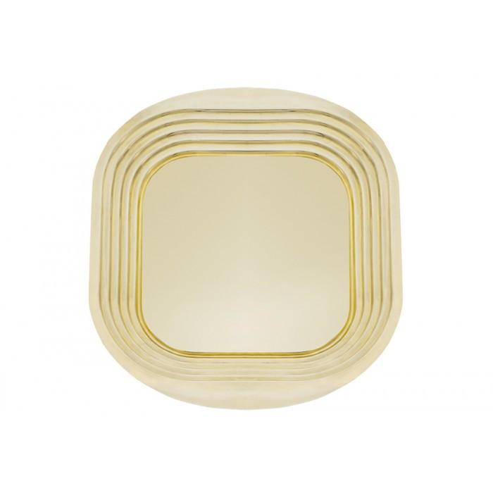 Form Square Brass Tray by Tom Dixon