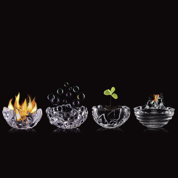 Four Elements Bowls by Rogaska 1665