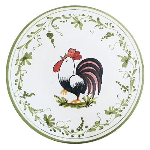 "Rooster Round Cheese Board/Trivet, 10"" by Abbiamo Tutto"